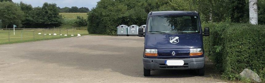 Spendenaktion für neuen Vereinsbus